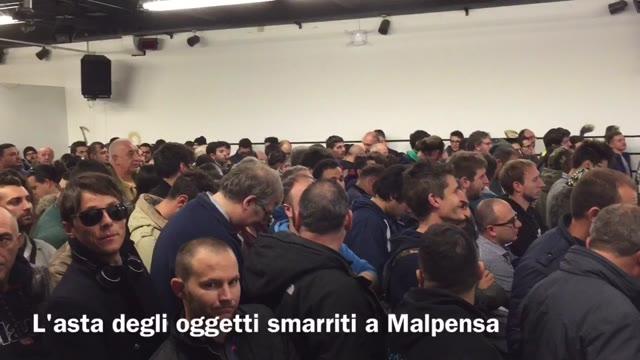 Video: Asta oggetti smarriti a Malpensa