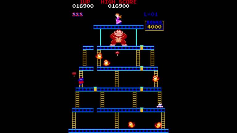 M.A.M.E. - Donkey Kong [Japan Set 1] - Points - 241,700 - Jason Vasiloff