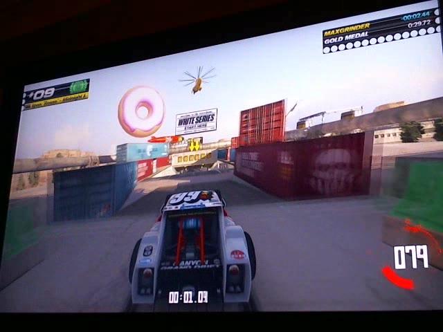 PlayStation 4 - Trackmania Turbo - White Series 09 - Fastest Time - 27.22 - Max Haraske