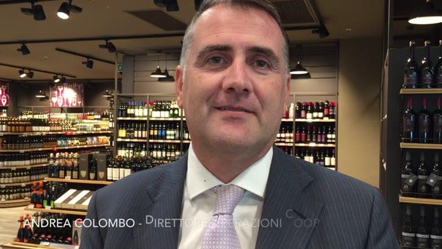 Video: Andrea Colombo racconta cosa troverete nella nuova Coop di Busto Arsizio