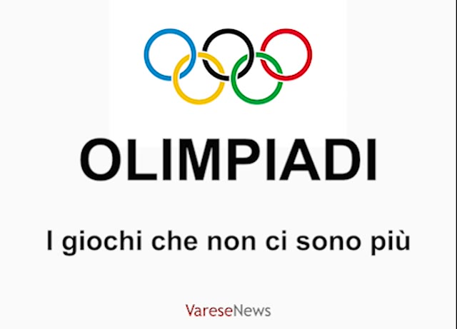 Video: Gli sport più strani delle Olimpiadi