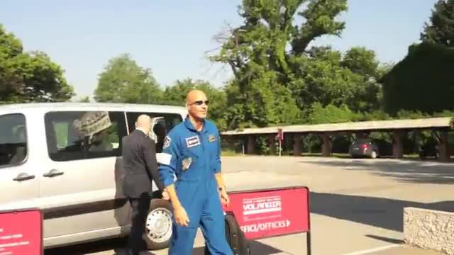 Video: Volandia tra le stelle con Luca Parmitano