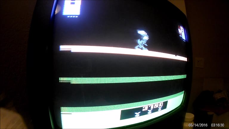 Atari 2600 / VCS - Bugs Bunny - NTSC - Game 1, Difficulty A - 27,490 - Rudy Ferretti