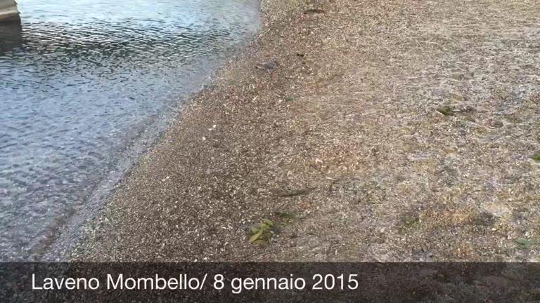 """Video: """"Un lago così basso non lo vedevo da anni"""""""