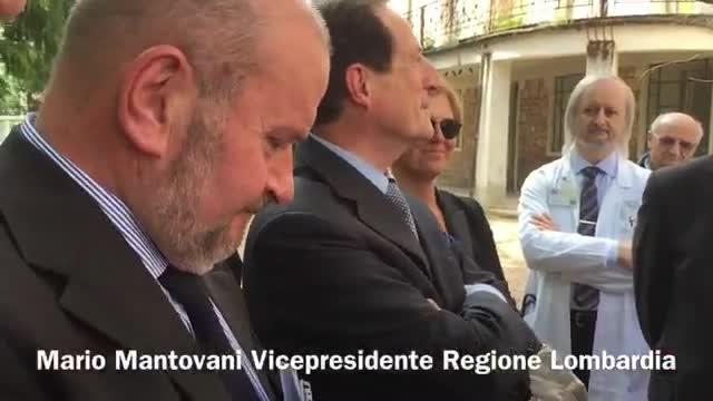 """Video: Mantovani promette: """"L'ospedale di Cuasso non si chiude"""""""