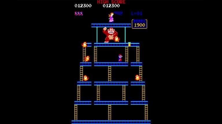 M.A.M.E. - Donkey Kong [US Set 1] - Points - 391,900 - Chris Gleed
