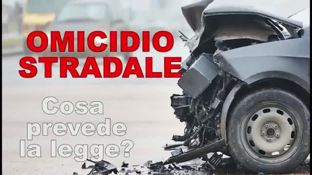 Video: Cosa prevede il reato di omicidio stradale