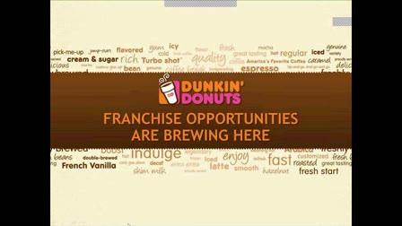 Dunkin' Donuts Informational Webinar