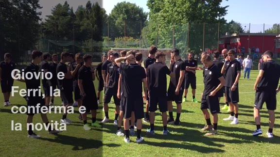 Video: Varese Calcio, le parole di Giovio e Ferri
