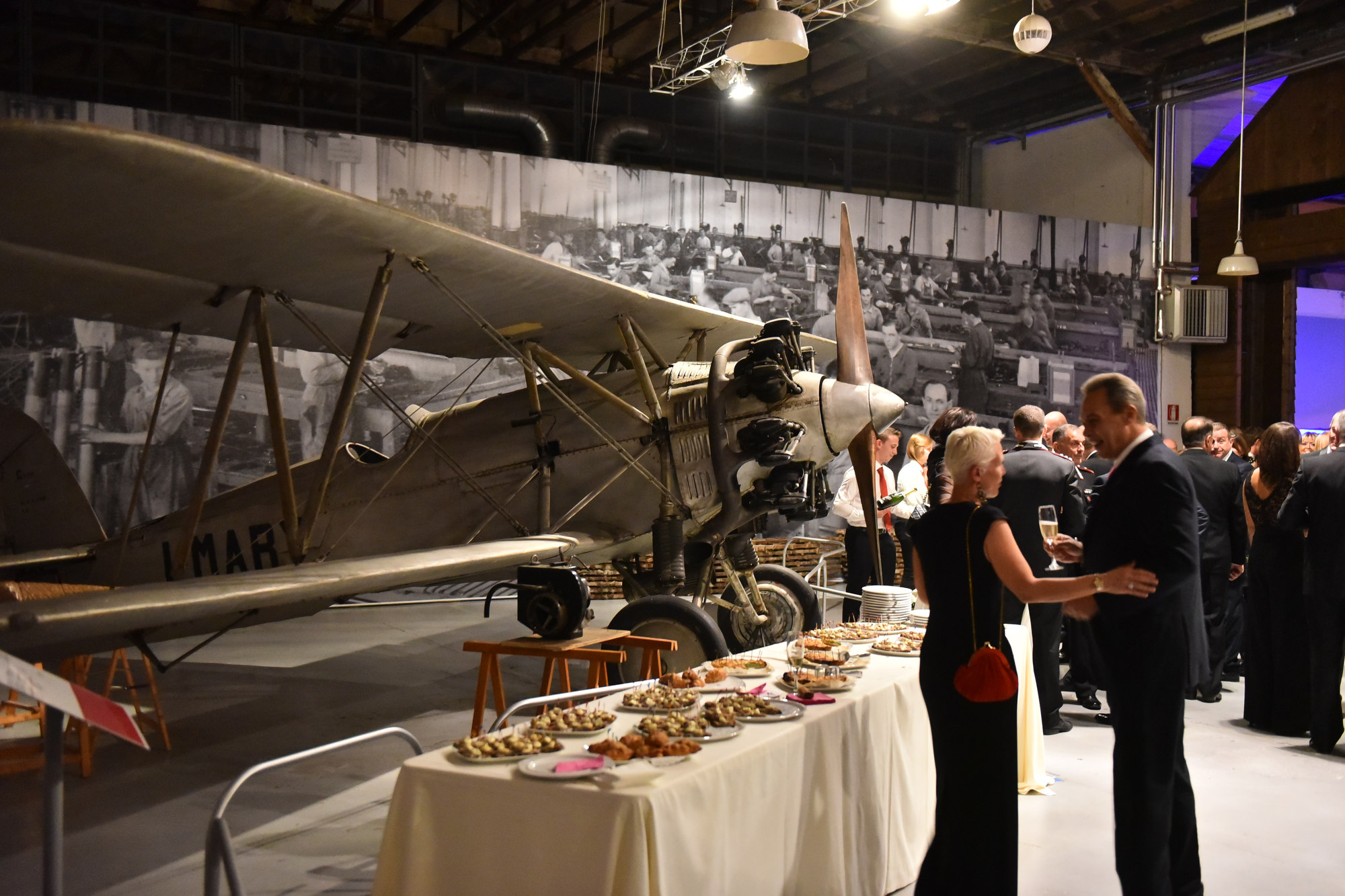 Video: La cena di gala a Volandia per i 70 anni di Malpensa