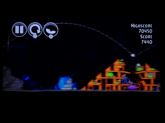 Nintendo Wii U - Angry Birds Trilogy - Angry Birds Classic - Mine and Dine - 16-8 - 78,140 - Rodrigo Lopes