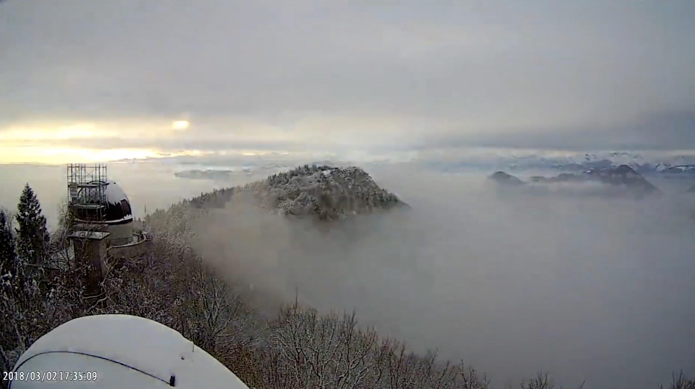 Video: Il timelapse della nevicata del 2 marzo