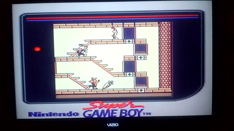 Game Boy / Game Boy Color - Bugs Bunny Crazy Castle - Points [TGTS] - 31,800 - John Jr.