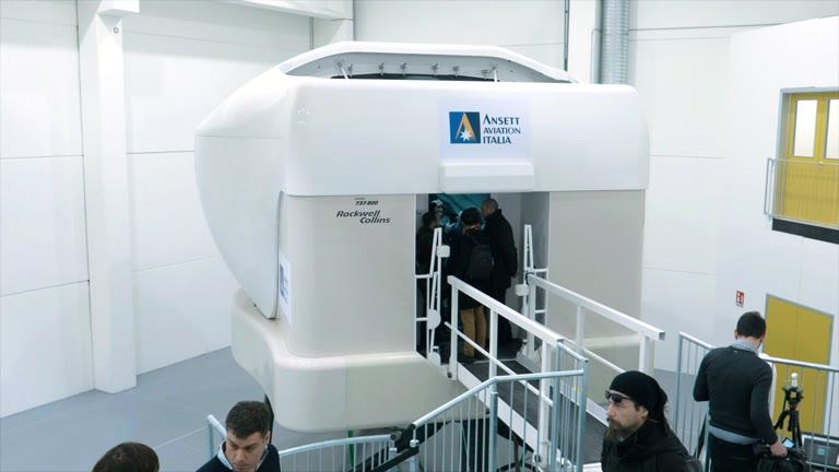 Video: A Malpensa nasce la nuova palazzina del volo simulato