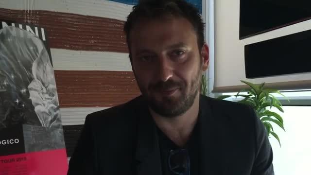 """Video: Cesare Cremonini: """"Vi presento il mio nuovo """"Più che Logico Tour"""""""