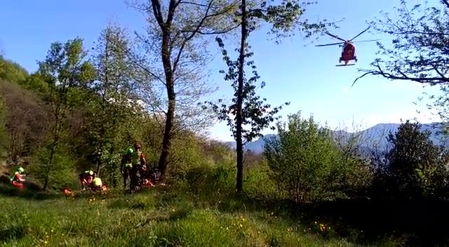 Video: Il salvataggio della donna dispersa in Val veddasca