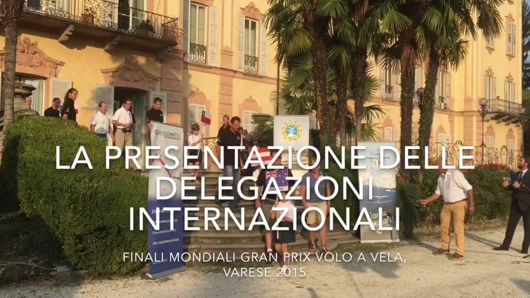 Video: L'arrivo delle delegazioni alle finali mondiali di volo a vela
