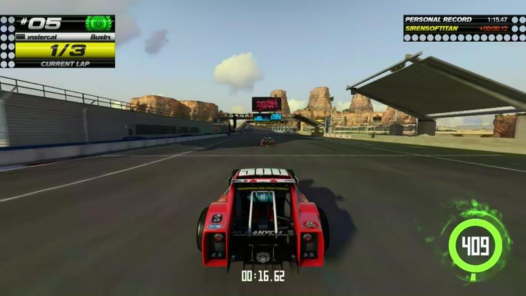 PlayStation 4 - Trackmania Turbo - White Series 05 - Fastest Time - 01:15.23 - Shaun Michaud