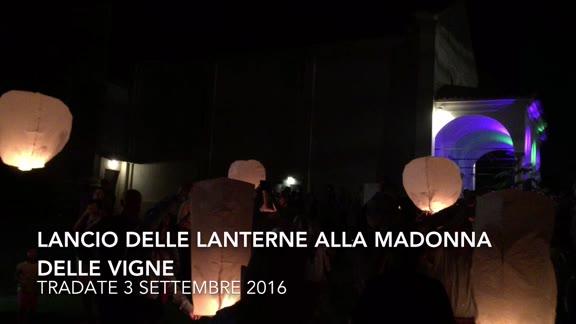 Video: Festa e lancio delle lanterne per la Madonna delle vigne