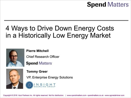 4 Ways to Drive Down Energy Costs in a Historically Low Energy Market slide image