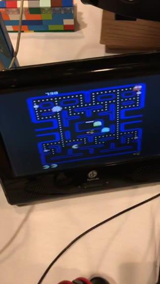 Atari 7800 - Pac-Man Collection - Pac-Man [Fast Mode] - 275,620 - Sean Courtney