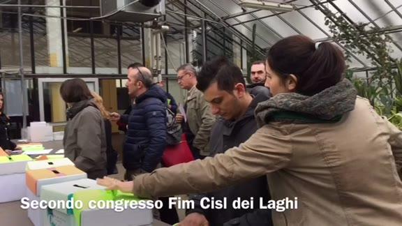 Video: Secondo congresso della Fim Cisl dei Laghi
