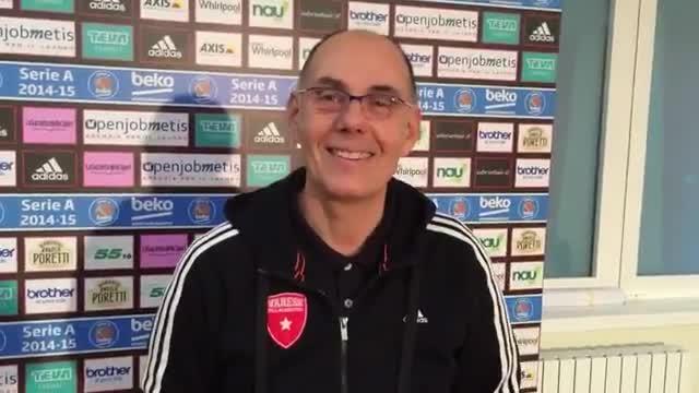 Video: Verso Varese-Caserta: parla Caja