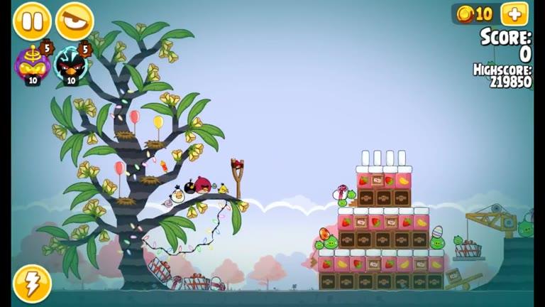 Android - Angry Birds Seasons - Pig Days - 1-3: AngryBirdsNest Birthday - 237,500 - Rodrigo Lopes