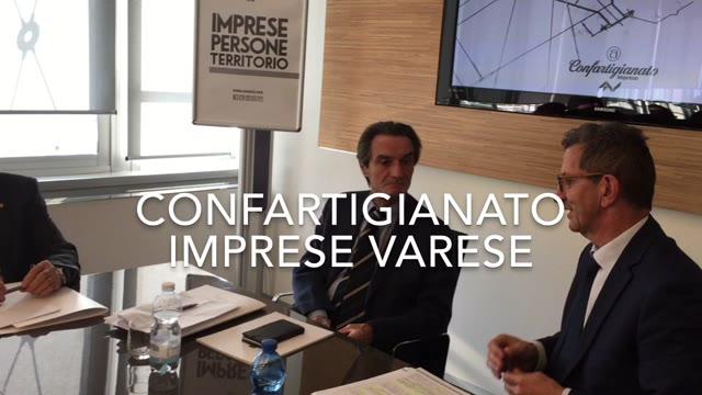 Video: Attilio Fontana incontra gli artigiani