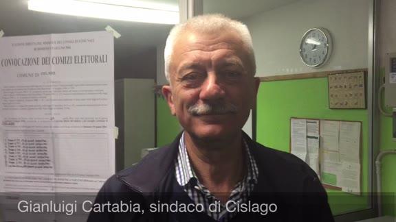 """Video: Cartabia a Cislago: """"Era la terza volta che ci provavo"""""""