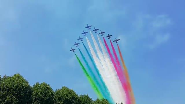 Video: Le Frecce Tricolori – Arona Air Show 2018