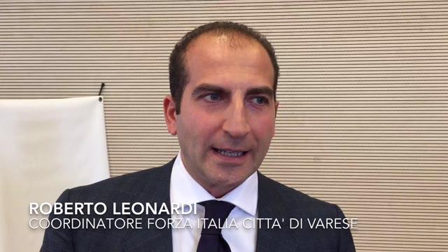"""Video: Leonardi nuovo coordinatore FI: """"Bianchi è nome interessante ma anche noi ne abbiamo"""""""