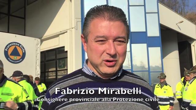 Video: Fabrizio Mirabelli ringrazia la Protezione civile per Expo