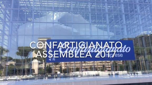 Video: L'assemblea nazionale di Confartigianato a Roma