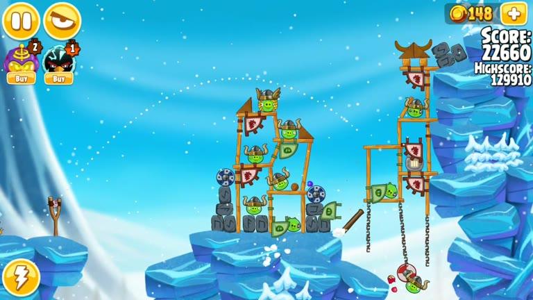 Android - Angry Birds Seasons - Ragnahog - 1-4 - 134,100 - Rodrigo Lopes