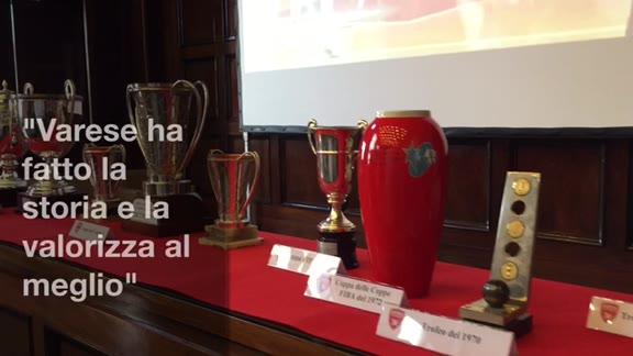 """Video: """"Varese ha fatto la storia, e la valorizza al meglio"""""""