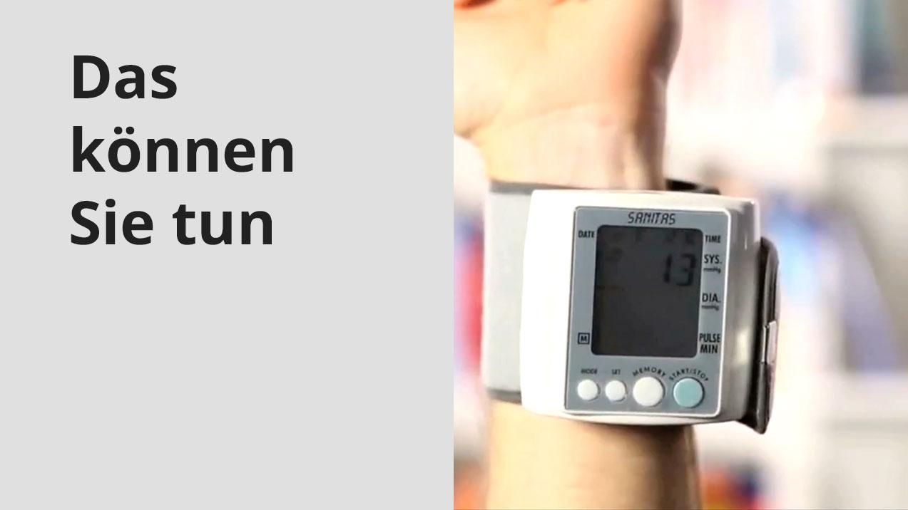 Richtig Blutdruck messen