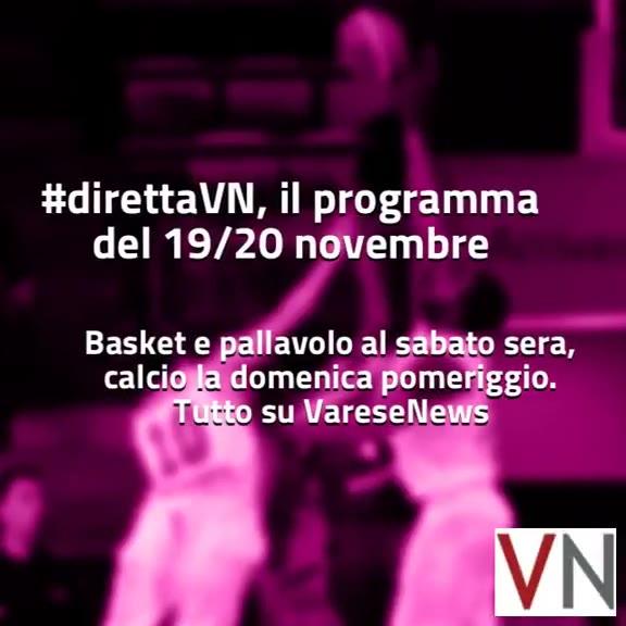 Video: #direttaVN – Il programma del 19 e 20 novembre