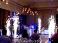 Fontane di Fuoco danzanti per ballo degli sposi