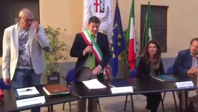 Video: Il giuramento del sindaco di Samarate Tarantino