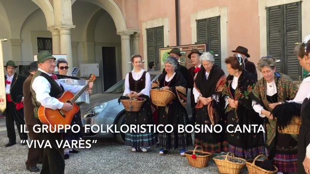 """Video: """"Cara Varès"""", cantata dal Gruppo Folkloristico Bosino"""