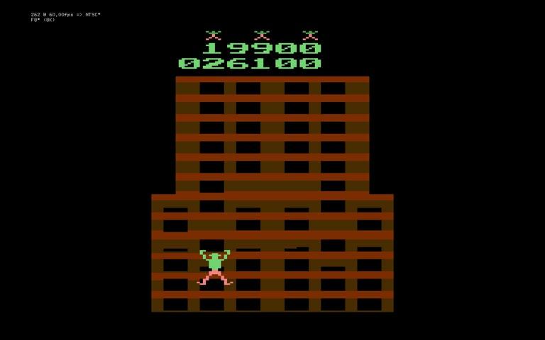 Atari 2600 / VCS - Crazy Climber - EMU - Game 1, Difficulty B - - 219,900 - Marco Sandoval