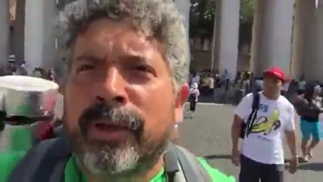 Video: Via Francigena, l'arrivo a Roma