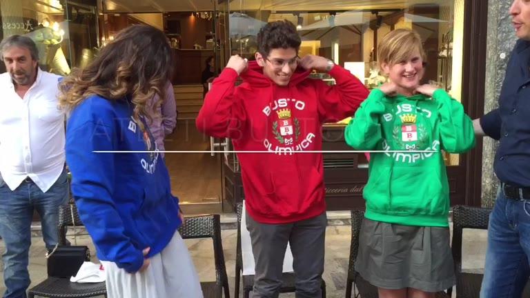 Video: I bustocchi che vanno alle Olimpiadi di Rio