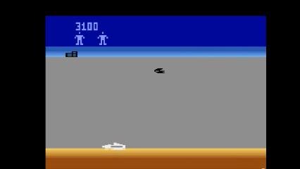 Atari 2600 / VCS - Star Fox - EMU - Game 2, Difficulty B - 9,999 - Matthew Felix