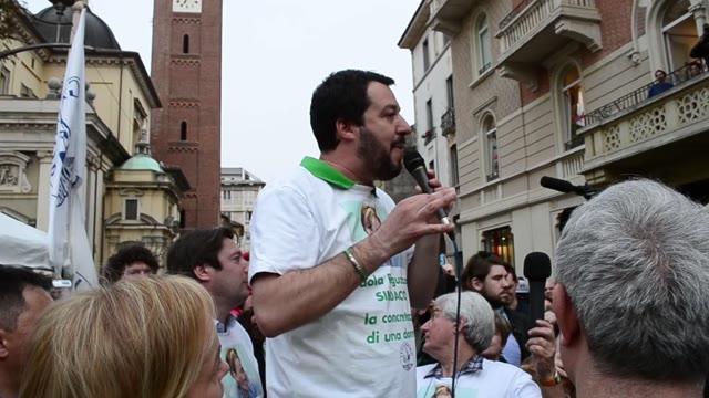 Video: Matteo Salvini per le primarie del centrodestra