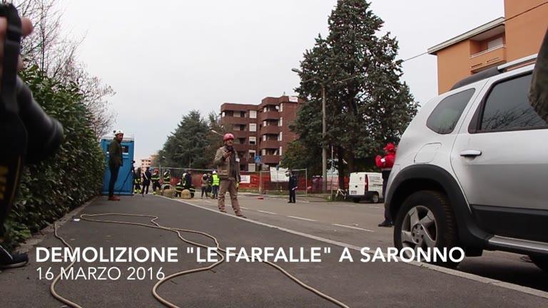 Video: La demolizione controllata a Saronno