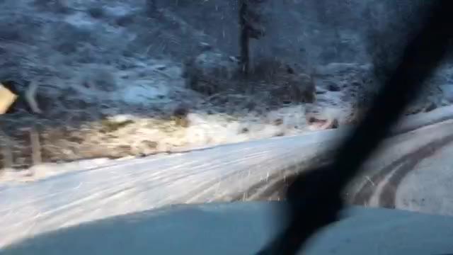 Video: Sotto la neve tra Ghirla e Marzio