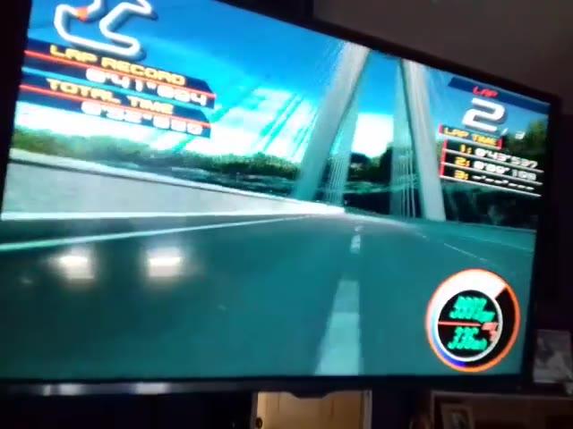 PlayStation 2 - Ridge Racer V - NTSC - Time Attack - Sunny Beach - Duel Time - Regular Track Fastest Lap - 41.606 - Jason Newman