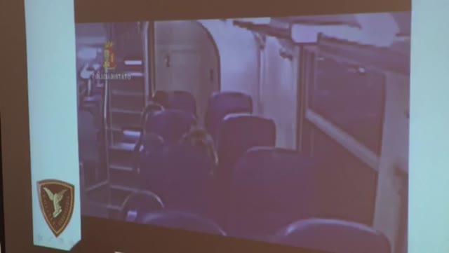 Video: Rapina sul treno